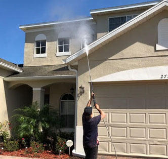 Exterior Cleaning Case Study
